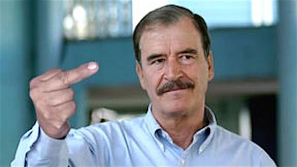 vicente fox finger
