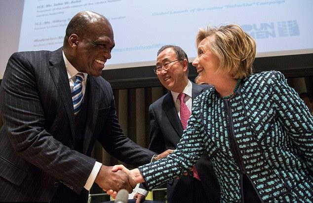 Ex-UN President 'Conveniently' Crushes His Own Throat Before Clinton-Linked Federal Case Starts