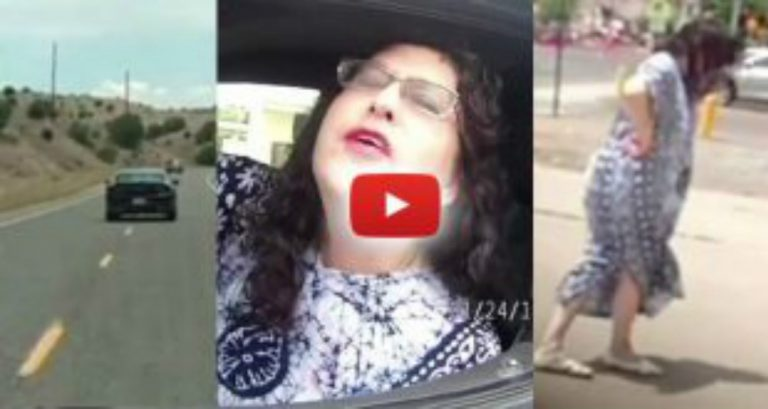 Wasted DA Nearly Kills Multiple Motorists – No Arrest, Cops Change Her Tire, Let Her Drive Away!
