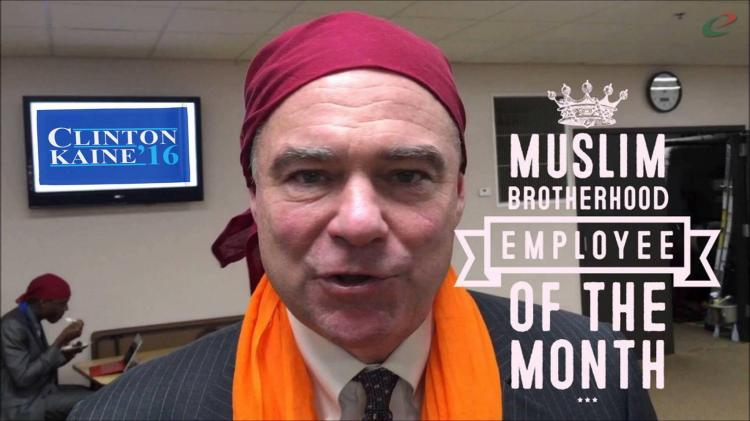 Just How Cozy is Hillary's VP Pick Tim Kaine with Islamists?