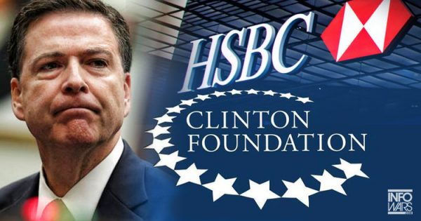 comey clinton foundation