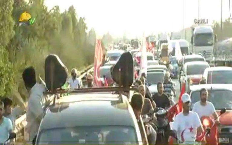 Convoys Of Berserk Muslims Headed Against US Air Force Base In Turkey