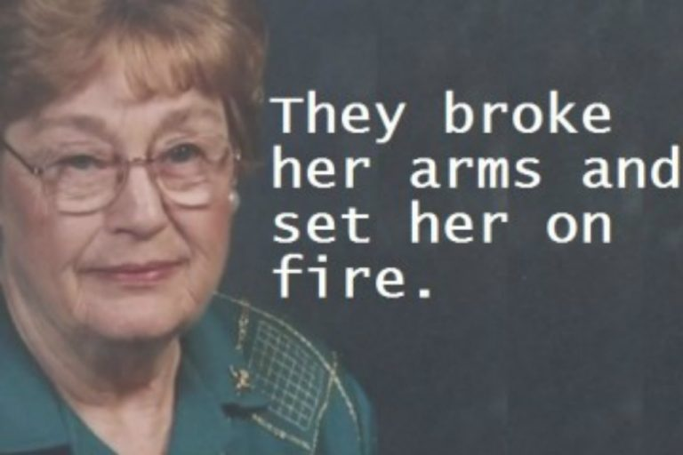 Black Thugs Attack 83-Year-Old Great Grandmother – Pistol Whip Her & Set Her On Fire