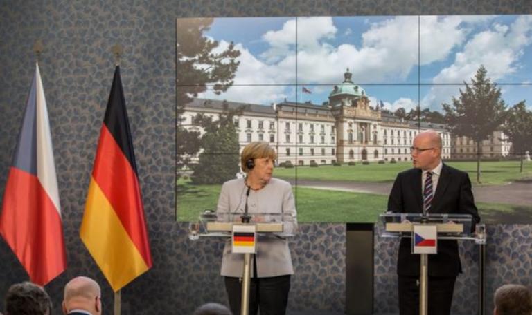 Assassination attempt on Angela Merkel