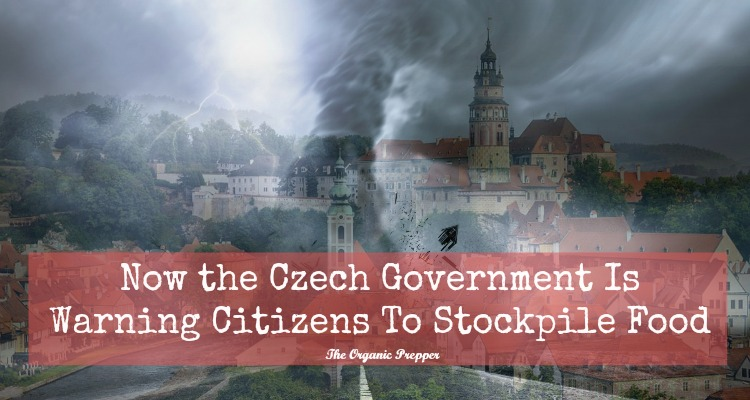 Now the Czech Government Is Warning Citizens To Stockpile Food