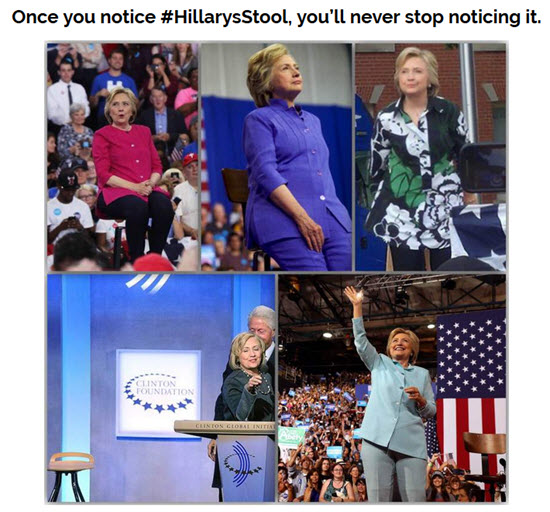 Baader-Meinhof Phenomenon on #Hillarysstools: Once You Notice It, You Can't Stop Noticing It