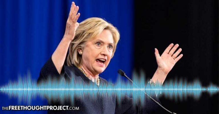 Leaked Audio Catches Clinton Red-Handed Talking About Rigging Elections