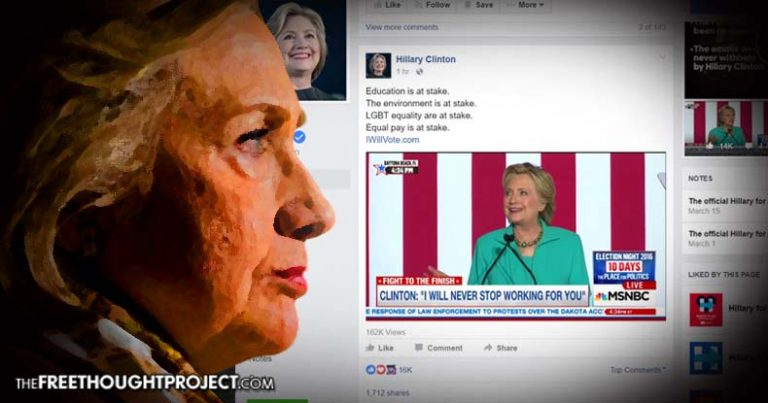 Report Exposes Inner Workings of Facebook and How Clinton Loyalists Control Your Newsfeed