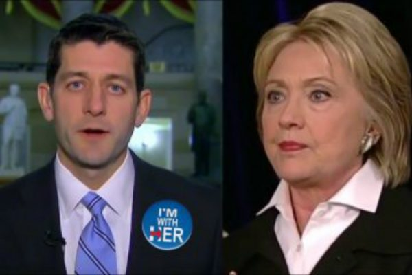 paul-ryan-hillary-clinton