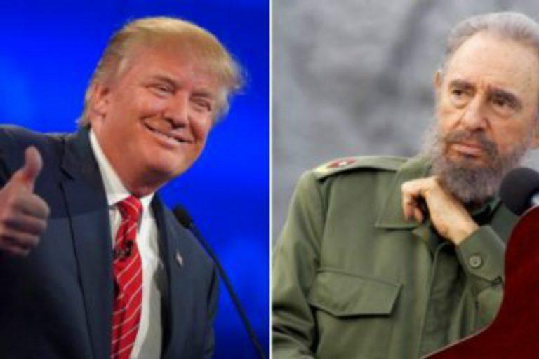 Trump's Statement on Castro Demonstrates He's No Obama