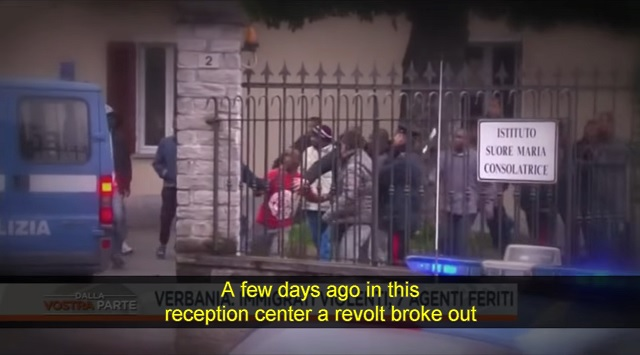 Italy: Migrants Riot After Being Denied Asylum, Refuse to Leave, Demand Their 'Daily Allowance'