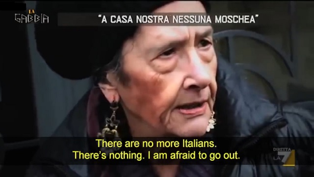WATCH: Furious Italians Say They Want Migrants Out Of Their Country