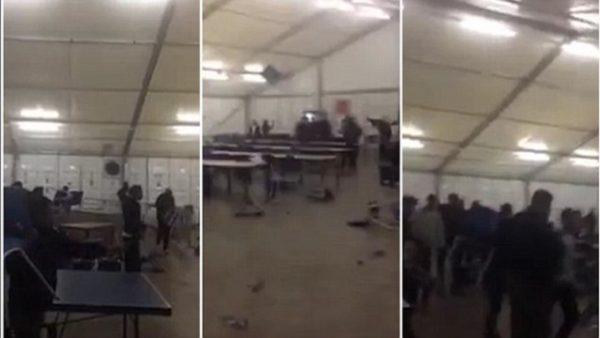 netherlands-riot-migrants