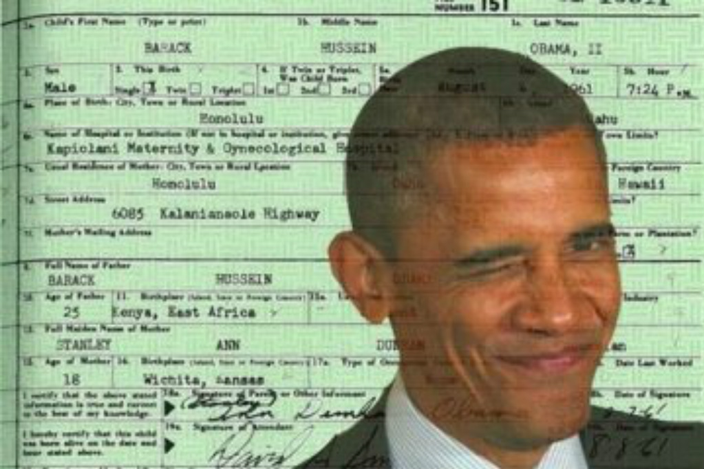 Obama Birth Certificate Is A Fake Heres The Big List Of Those Who