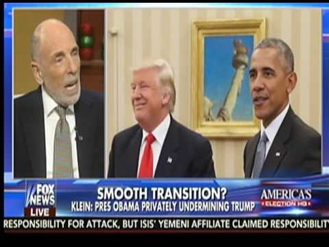 """Claim: Obama setting up """"shadow government"""" to directly oppose Trump presidency"""