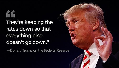 Federal Reserve Initiates End Game As Trump Heads To White House