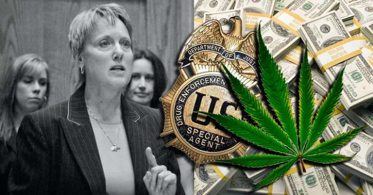 DEA 'Chief Propagandist' Says Agency Knows Pot is Safe, Keeps it Illegal for Profit