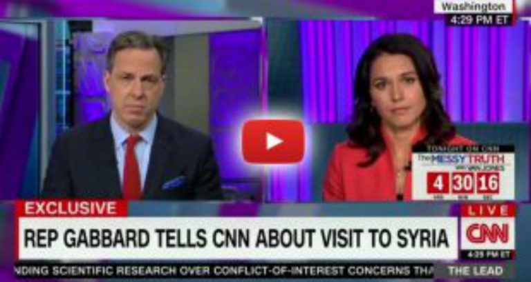 Hero Congresswoman Exposes Truth on CNN After Secret Visit to Syria, 'There Are No Moderate Rebels'
