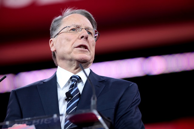 NRA's Wayne LaPierre Issues Call To Arms At CPAC, Warns Soros-Funded Leftists May Commit Terrorism