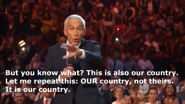 Jorge Ramos: The U.S. Is 'Our Country, Not Theirs'