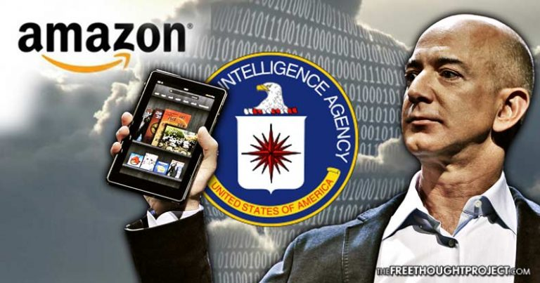 Bezos Becomes World's Richest Man As Whistleblower Exposes NSA & CIA Collusion with Amazon