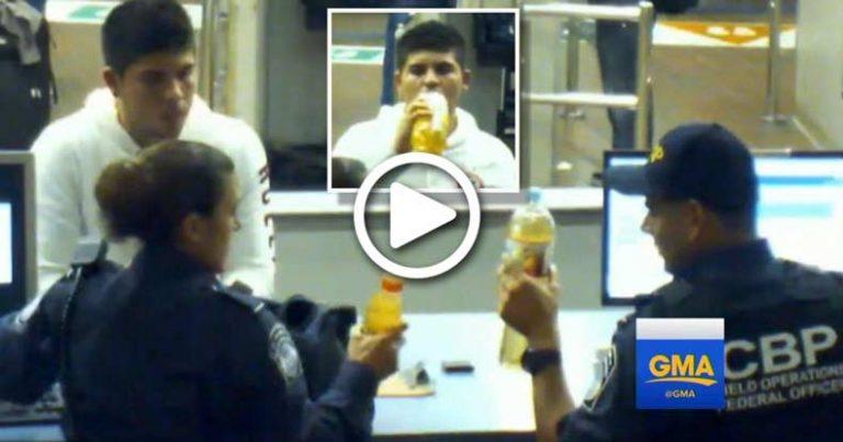 Disturbing Video Shows US Border Agents Make 16yo Boy Drink Liquid Meth Until He Dies