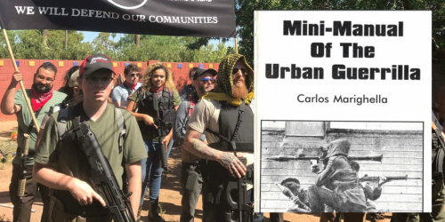 Media praise Anti-Trump militia that publishes manual on executions, kidnapping, sabotage, and terrorism