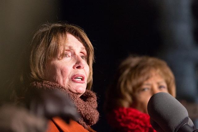 Hell Freezes Over: Nancy Pelosi Condemns Antifa