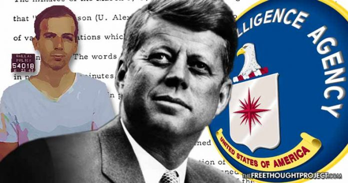 Two Key Findings that Show Us CIA Redacted Potential Smoking Gun from JFK Files