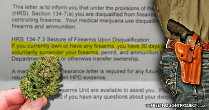 'Surrender Your Firearms' – Gov't Now Confiscating Guns from Medical Cannabis Users