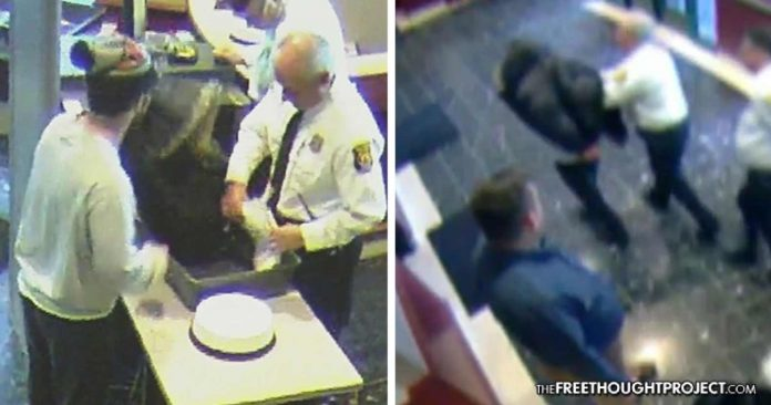 WATCH: Man Tries to Pay $10 Fine in Pennies, So Cops Beat Him Until He Defecated Himself