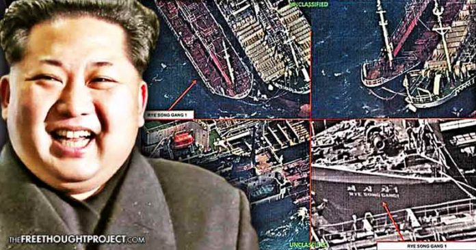 Tensions Flare as US Recon Satellites Expose Chinese Ships Illegally Selling Oil to North Korea