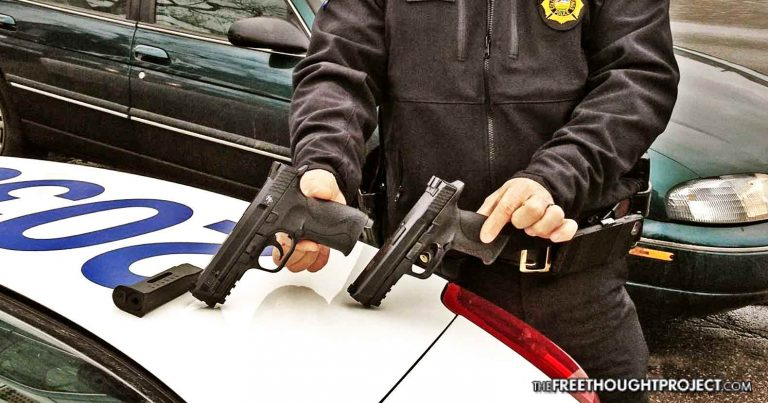 Corrupt Baltimore Cops Admit To Keeping BB Guns to Plant On Unarmed People They Kill