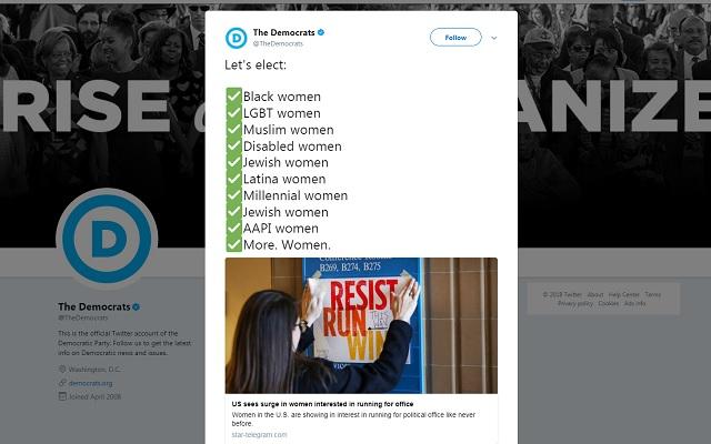 Democrats: White Christian Women Need Not Apply