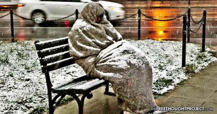 City Tells Man to Stop Sheltering the Homeless from the Cold or They'll Take His House
