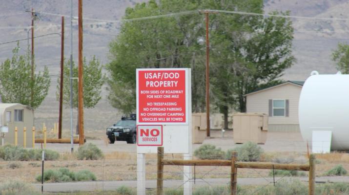 Secret Nevada base hidden in plain sight