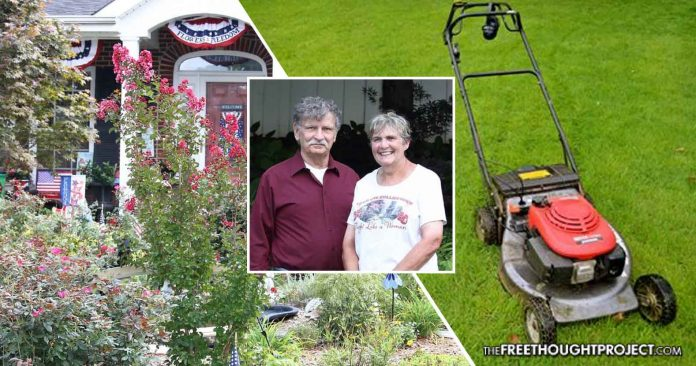 City Forces Elderly Homeowner To Replace Garden with Grass Lawn Even Though She's Allergic To It