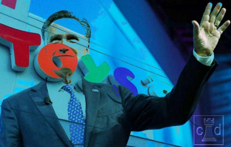 Retroactive Racketeering — Romney Kills Toys R Us