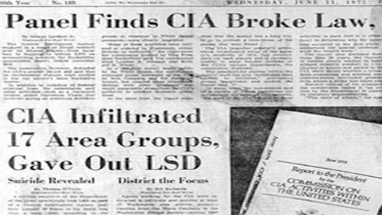 How the CIA hid their MKULTRA mind control program