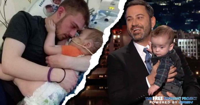 After Using His Son to Beg for Socialized Medicine, Jimmy Kimmel Silent as It Kills Baby Alfie