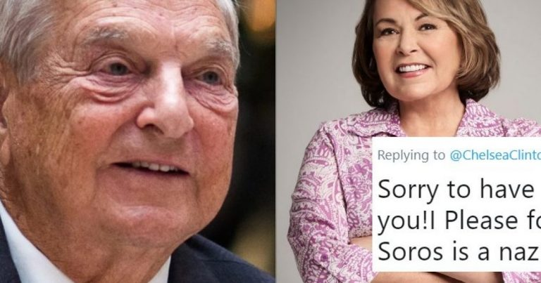 Soros Tries To Backpeddle After Roseanne Calls Out His Nazi Collaborations