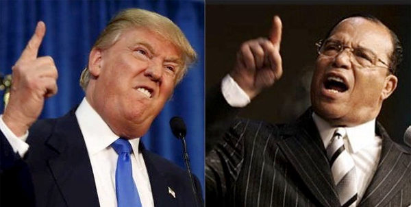 """FARRAKHAN SAYS TRUMP HAS DONE MORE FOR BLACK PEOPLE THAN ANY PRESIDENT IN HISTORY: """"TRUMP IS DESTROYING EVERY ENEMY THAT WAS THE ENEMY OF OUR RISE"""""""