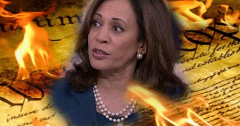 Senator Kamala Harris Thinks Trump's SCOTUS Pick Means 'Destruction of the Constitution' – Doesn't Realize She's Been Doing Just That