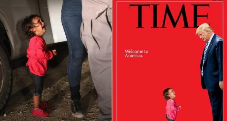 "The most hilarious memes mocking TIME's fake news ""screaming migrant girl"" magazine cover"
