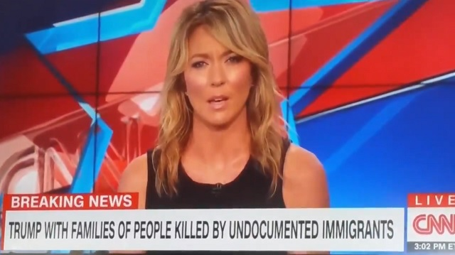 CNN, MSNBC Cut Away From Trump Event With 'Angel Families' Who've Lost Loved Ones to Illegal Aliens