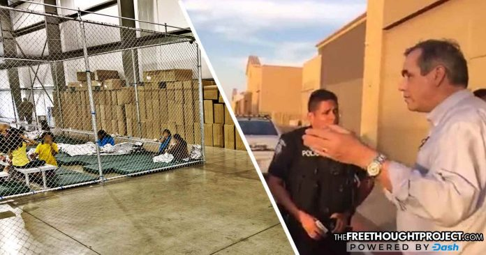 Conspiracy Theory Proven Fact as Cops Remove Senator from Walmart Converted into Detention Center