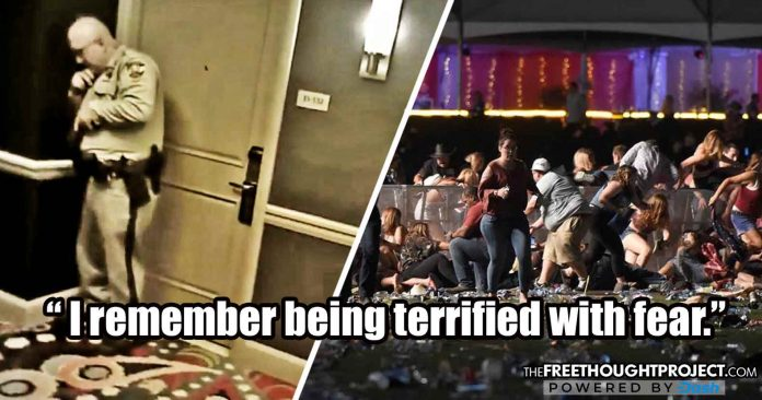 New Body Cam Shows Vegas Police Cowered In Fear in Hallway as Paddock Slaughtered Dozens