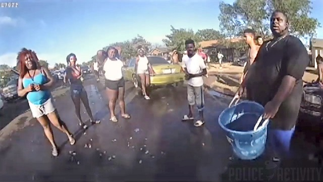 VIDEO: Female Cop Behaves Exactly As BLM Demands, Gets Publicly Humiliated As Thanks
