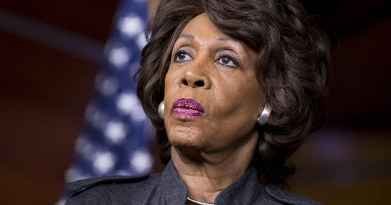 """Maxine Waters Says Trump Doesn't Care About Coronavirus, He Only Cares About """"White Power Pep Rallies"""""""