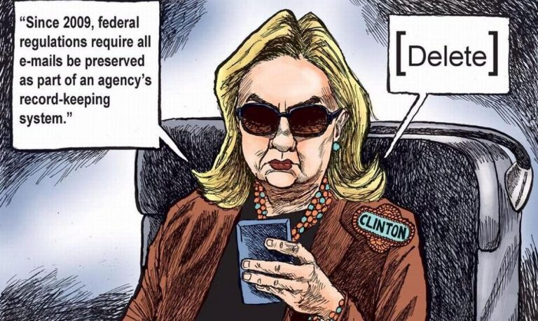 Bombshell accusation: Hillary never had a State Department email address; all emails were sent to her at her private unsecured email